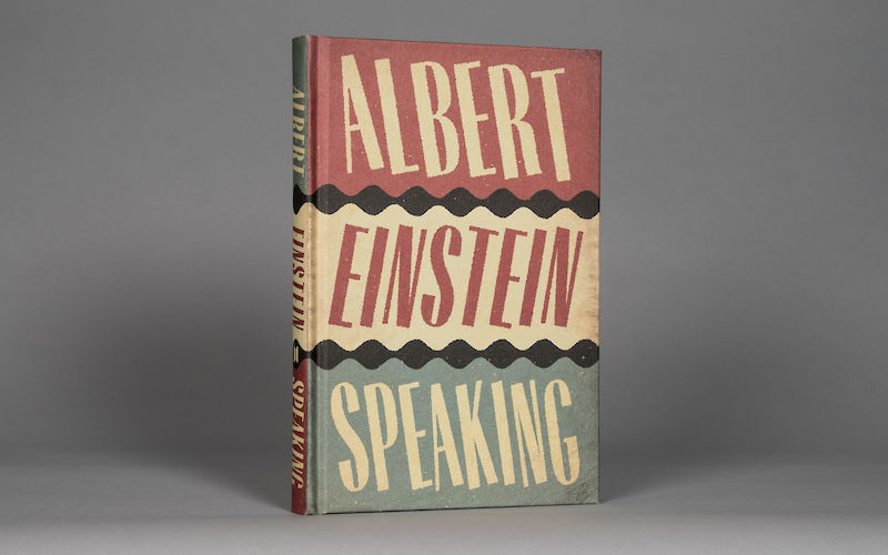 Albert Einstein Speaking by R.J. Gadney gallery image 2