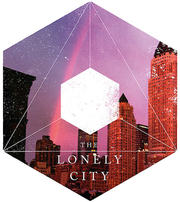 The lonely City Vector Image