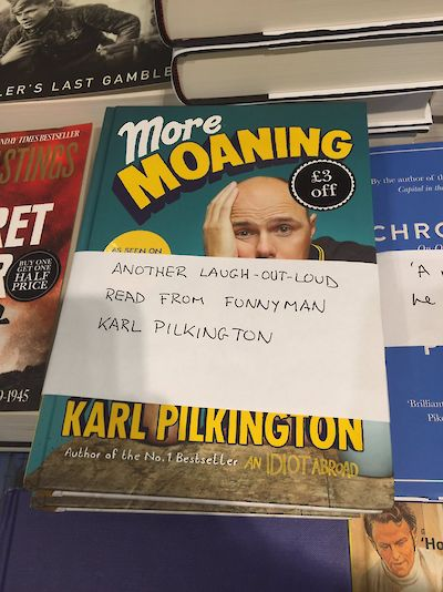 More Moaning Waterstones Edinburgh