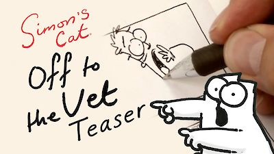 Simon's Cat Off to the Vet Film Preview