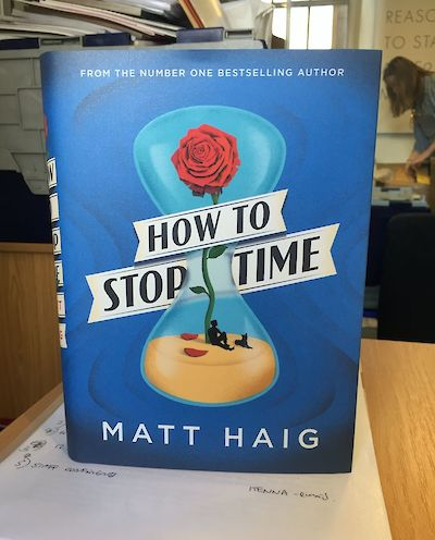 It exists! How to Stop Time on Matt Haig's Facebook