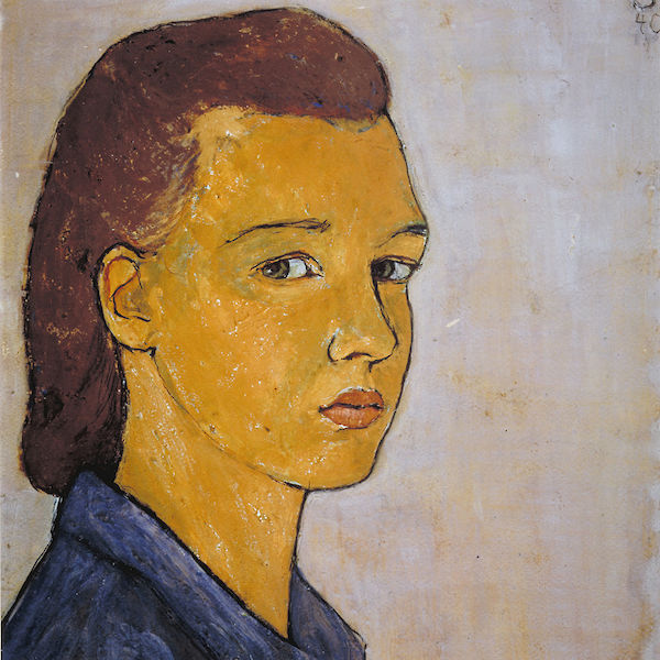 Charlotte Salomon self-portrait