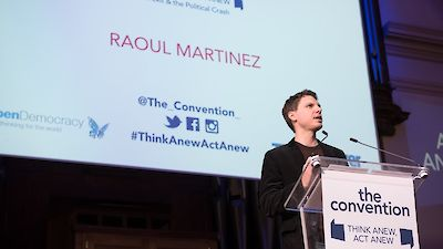 Raoul Martinez's keynote speech at The Convention