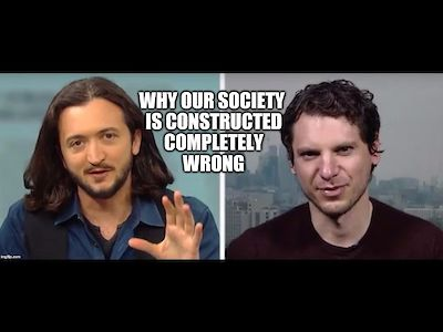 Raoul Martinez on why our society is constructed completely wrong
