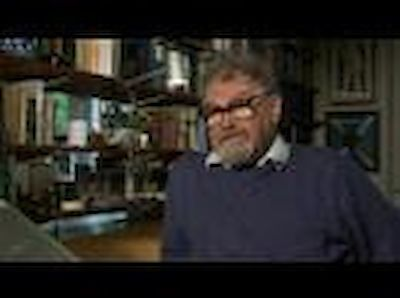 Alasdair Gray video interview on painting and books