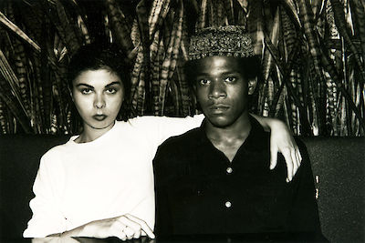Black and White and Widow Basquiat