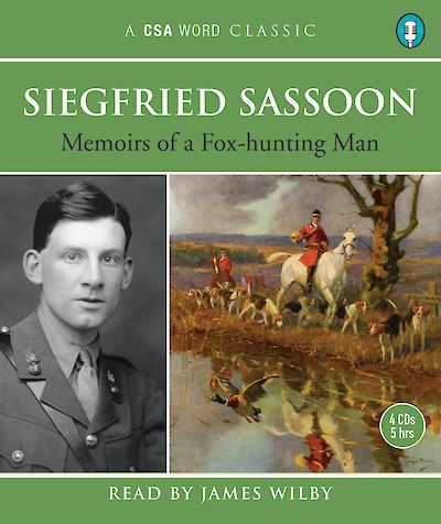 Memoirs Of A Fox-Hunting Man by Siegfried Sassoon cover