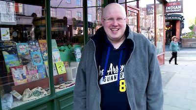 Matt Lucas bookshop video