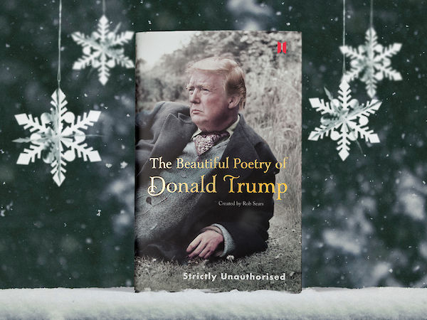 Beautiful Poetry of Donald Trump in snow