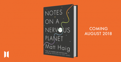 Matt Haig Nervous cover reveal