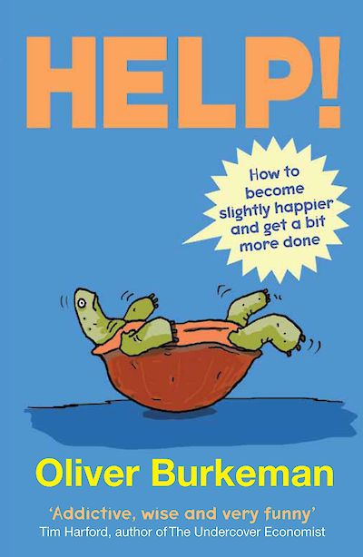 HELP! by Oliver Burkeman cover