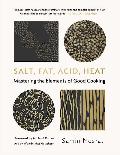 Salt Fat Acid Heat shortlisted for Fortnum and Mason Debut Food Book of the Year