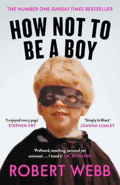 How Not to Be a Boy Paperback Announcement