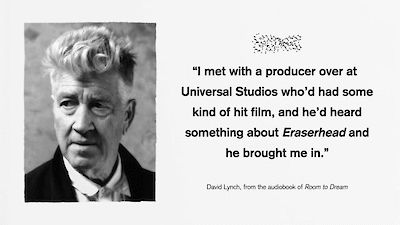 David Lynch pitches a film