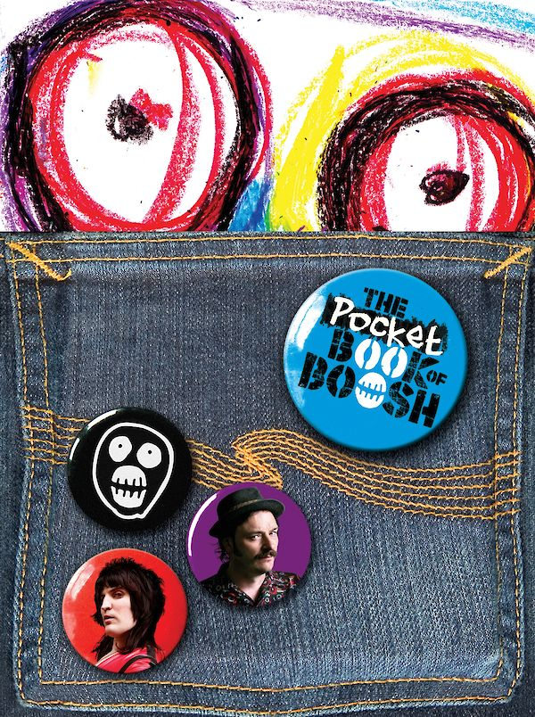 The Pocket Book of Boosh by Julian Barratt, Noel Fielding (Paperback ISBN 9781847674142) book cover