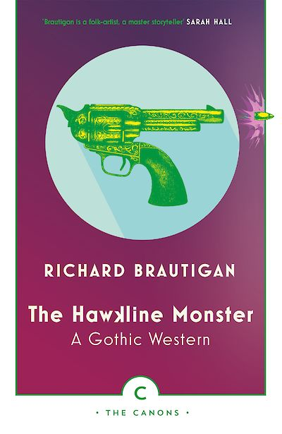 The Hawkline Monster by Richard Brautigan cover