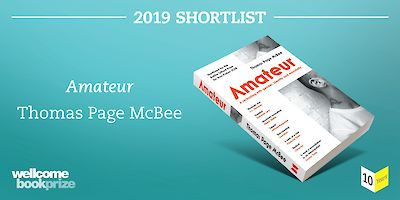 Amateur is on the Wellcome shortlist!