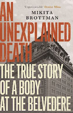An Unexplained Death cover
