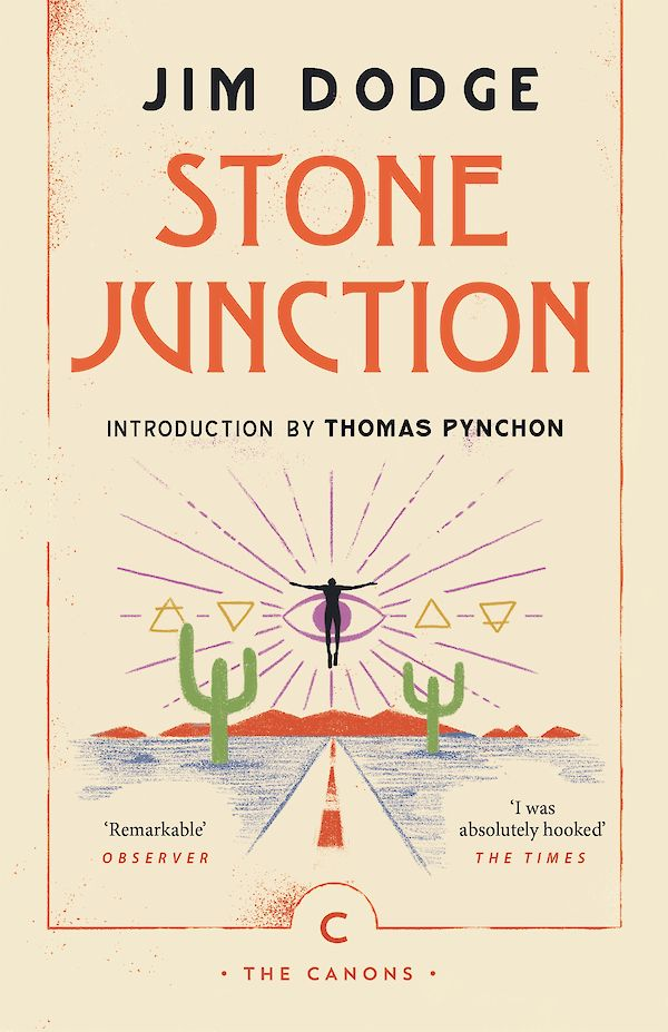 Stone Junction by Jim Dodge (Paperback ISBN 9781786893970) book cover