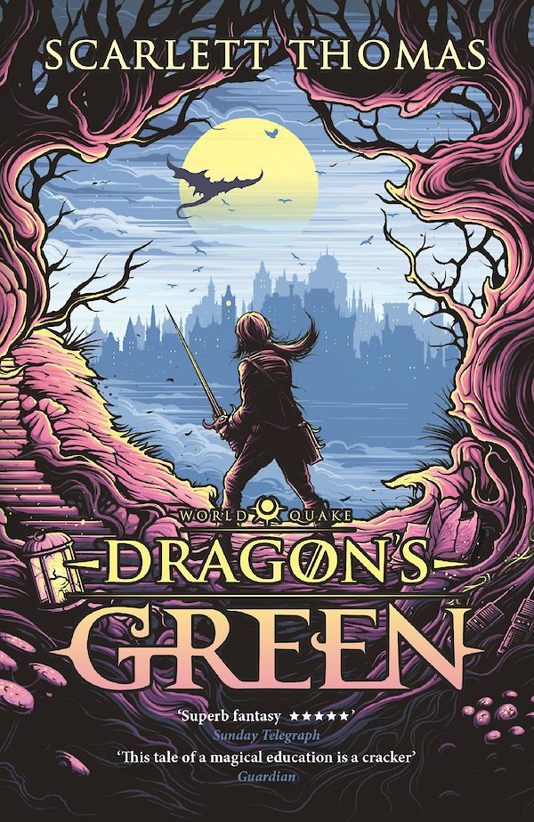 Dragon's Green by Scarlett Thomas (Paperback ISBN 9781782117049) book cover