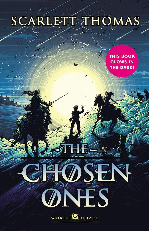The Chosen Ones by Scarlett Thomas (Hardback ISBN 9781782119302) book cover