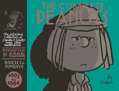 The Complete Peanuts 1993-1994 by Charles M. Schulz cover