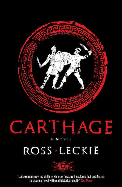 Carthage by Ross Leckie cover