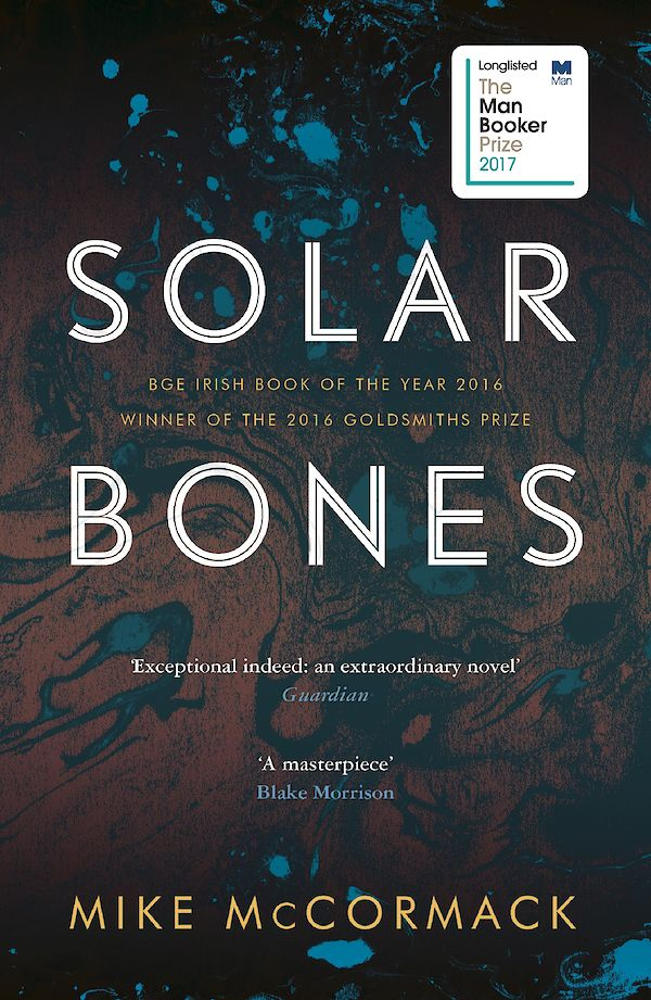 Solar Bones by Mike McCormack (Paperback ISBN 9781786891297) book cover