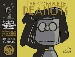 The Complete Peanuts 1991-1992 by Charles M. Schulz cover