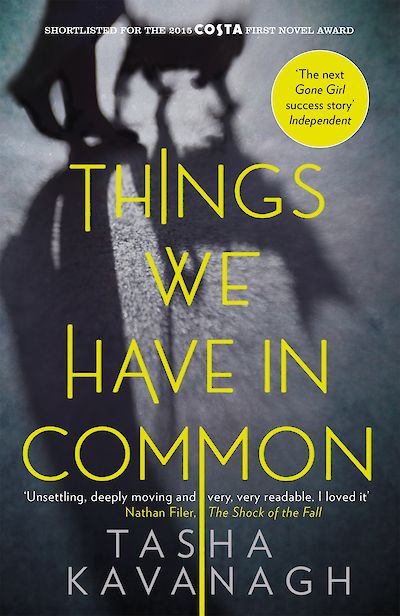 Things We Have in Common by Tasha Kavanagh cover