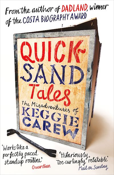 Quicksand Tales by Keggie Carew cover