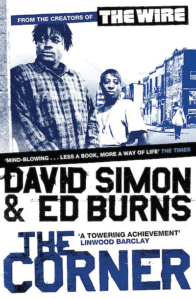 The Corner by David Simon, Edward Burns cover