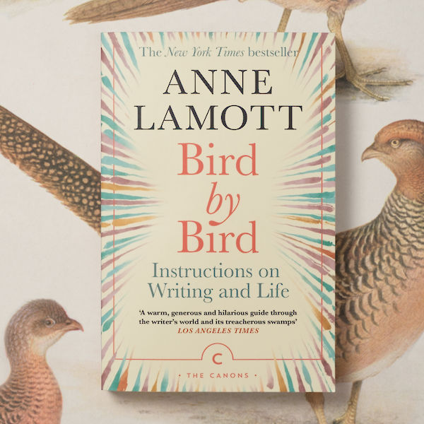 Anne Lamott's Bird by Bird photograph