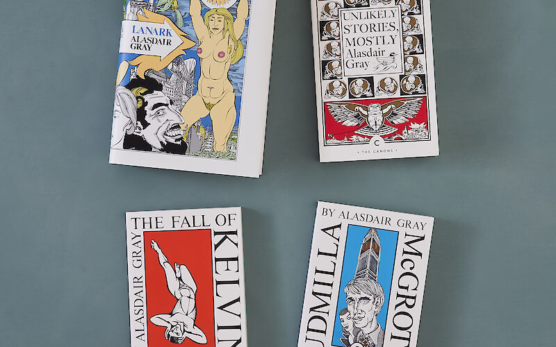 McGrotty and Ludmilla by Alasdair Gray gallery image 3