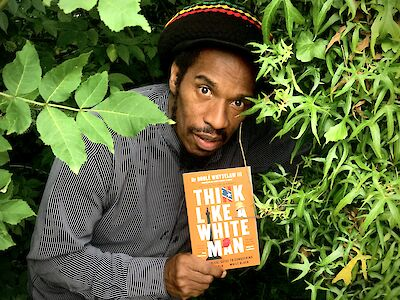 Benjamin Zephaniah Think Like a White Man tweet