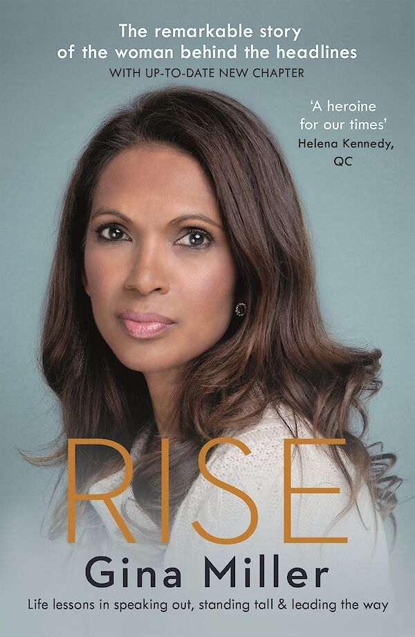 Rise by Gina Miller (Paperback ISBN 9781786892911) book cover