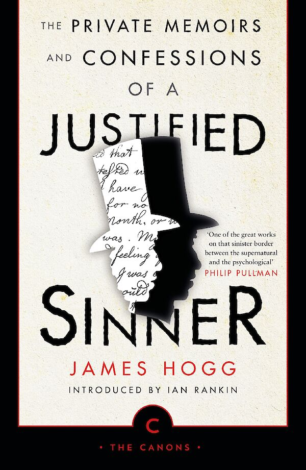 The Private Memoirs and Confessions of a Justified Sinner by James Hogg (Paperback ISBN 9781786891860) book cover
