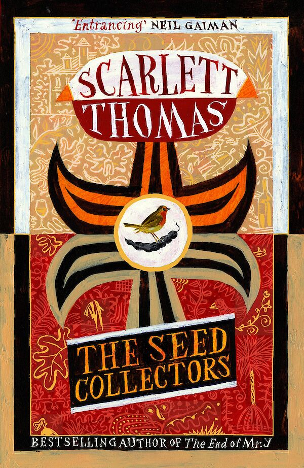 The Seed Collectors by Scarlett Thomas (Paperback ISBN 9781847679222) book cover