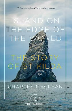 Island on the Edge of the World by Charles MacLean cover