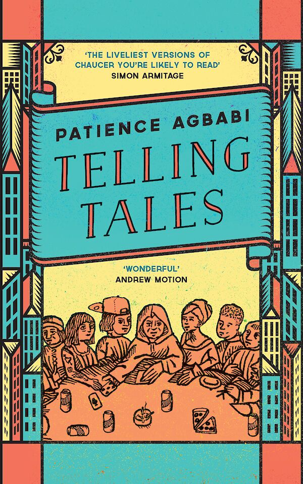 Telling Tales by Patience Agbabi (Paperback ISBN 9781782111573) book cover