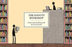 The Snooty Bookshop by Tom Gauld cover